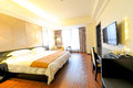 Hotel rooms nanchang picture was taken in march Stock Photo