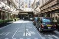 Hotel Savoy - London Royalty Free Stock Photo