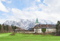 Hotel schloss elmau in bavarian alpine valley g summit garmisch germany april will be the site of the the has chosen remote Royalty Free Stock Photo