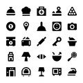 Hotel Services Vector Icons 1