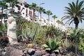 Hotel su Tenerife Fotografia Stock