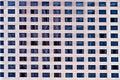 Hotel windows Royalty Free Stock Photo