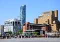 Hotels in liverpool city centre crowne plaza and madison merseyside england uk western europe Stock Image