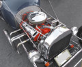 Hotrod car engine Royalty Free Stock Photo