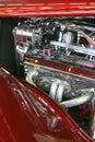 Hotrod engine Royalty Free Stock Photo