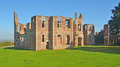 Houghton house ampthill bedfordshire england september with views of bedford and the vale of marston Royalty Free Stock Photos