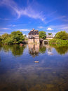 Houghton mill 3 Royalty Free Stock Image