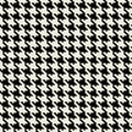 Hounds Tooth Pattern Stock Photography