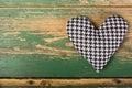 Houndstooth Heart