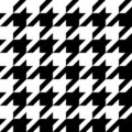 Houndstooth Pattern Royalty Free Stock Photo