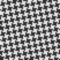 Houndstooth pattern. Seamless pattern. Royalty Free Stock Photography