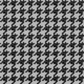 Houndstooth pattern. Royalty Free Stock Photo