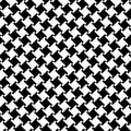 Houndstooth Pattern Vector Royalty Free Stock Photo