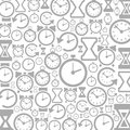 Hour background grey of hours a vector illustration Royalty Free Stock Image