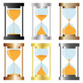 Hourglass Fotos de Stock Royalty Free