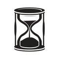 Hourglass icon Royalty Free Stock Photo