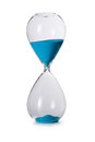 Hourglass isolated time sand yellow Royalty Free Stock Image