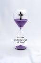 Hourglass Religion Rapture Royalty Free Stock Photo