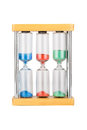 Hourglass with three flasks Royalty Free Stock Photo
