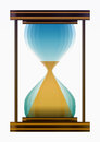Hourglass time sand moment image illustration Stock Photos