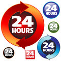 24 hours Royalty Free Stock Photo