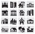 Hous icons Stock Photo