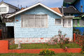 House at Ancud, Chiloe Island, Chile