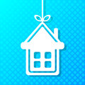 House applique background for your design Stock Photo