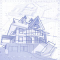 House - architecture concept Stock Image
