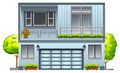 A house with balcony