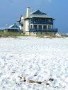 House on the beach Stock Photo