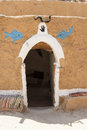 House of berbers in sahara desert Stock Photography