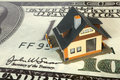 House on big dollar Stock Image
