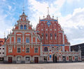 The House of the Blackheads, Riga, Latvia. Stock Photography