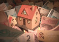 House Brazilian Money Stock Photo