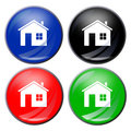 House button Royalty Free Stock Photo