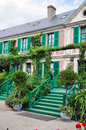 House of claude monet in giverny the famous painter france Stock Photos
