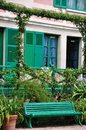 House of claude monet in giverny the famous painter france Royalty Free Stock Photo