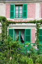 House of claude monet in giverny the famous painter france Royalty Free Stock Photography