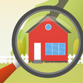 House concept. For sale. House flat icon. Design your own