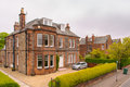 House in Edinburgh. Scotland, uk Royalty Free Stock Photo