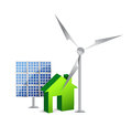 House energy saving concept Royalty Free Stock Photos