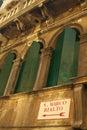 House facade in Venice Stock Photography