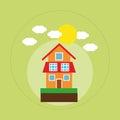House family home energy ecology solar