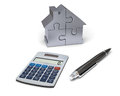 House financing Royalty Free Stock Photos