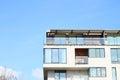 House with flats modern residential prague czech republic Stock Photography