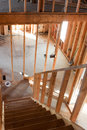 House Framing Interior Royalty Free Stock Photo