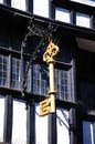 House of the Golden Key, Tewkesbury. Royalty Free Stock Photo