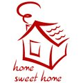 House icon this is file of eps format Stock Photography