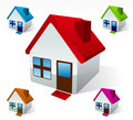 House Icon Illustration Royalty Free Stock Photos
